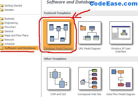 How to import SQL Server 2005 Tables into Microsoft Visio