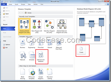 Import sql server 2008 data table structure into microsoft for Table design visio