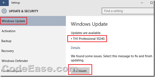 Update windows 10 insider preview to windows 10 rtm codeease image ccuart Choice Image